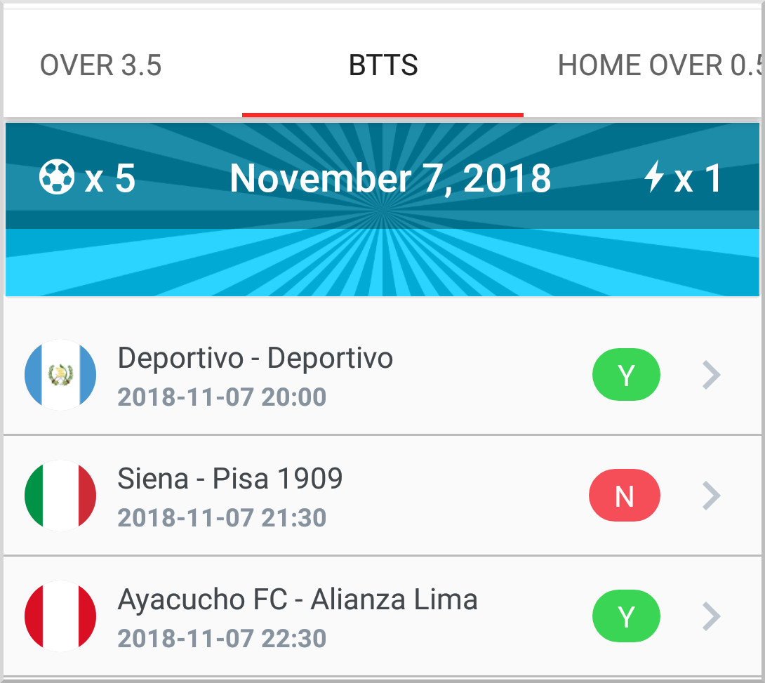 Cashout Football Predictions App